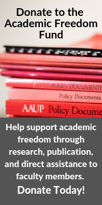 Academic Freedom and the First Amendment (2007) | AAUP