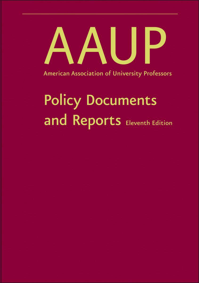 The Redbook | AAUP
